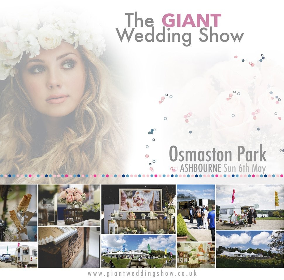 Osmaston Park GIANT Spring Wedding Show Sunday 6th May 2018