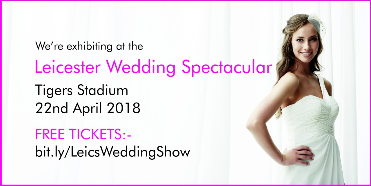 Dressini were at the Leicester Wedding Spectacular Sunday 22nd April 2018